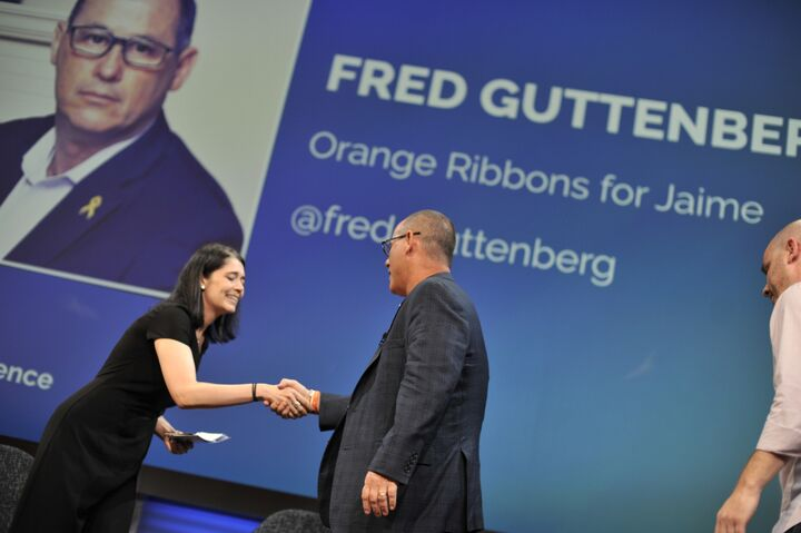 Fred Guttenberg at Influence Nation Summit