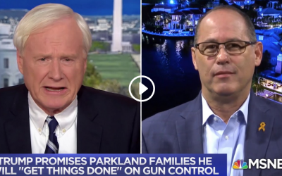 Parkland father calls Trump a liar for flip-flopping on gun control