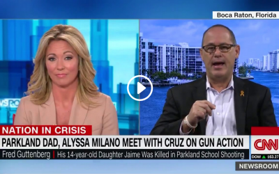 Parkland dad describes meeting with Alyssa Milano and Ted Cruz