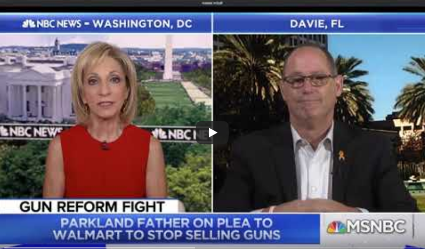 Parkland victim's father: We have the opportunity to truly change the culture
