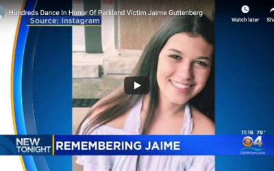 Hundreds Dance In Honor of Parkland Victim Jaime Guttenberg