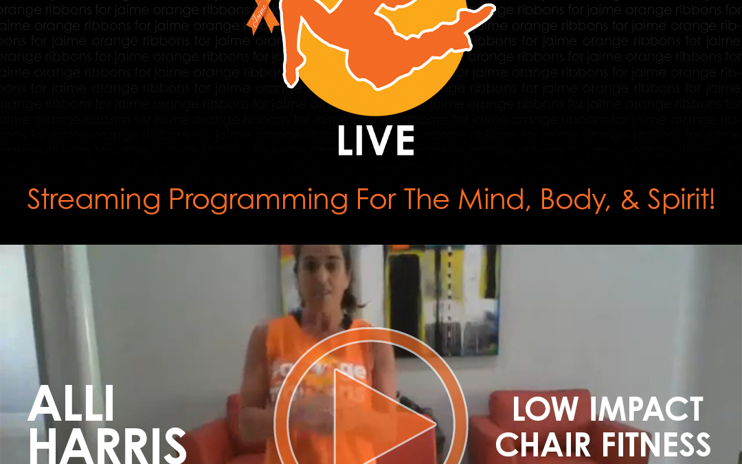 Low Impact Chair Fitness with Alli Harris
